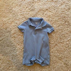 Baby polo onesie